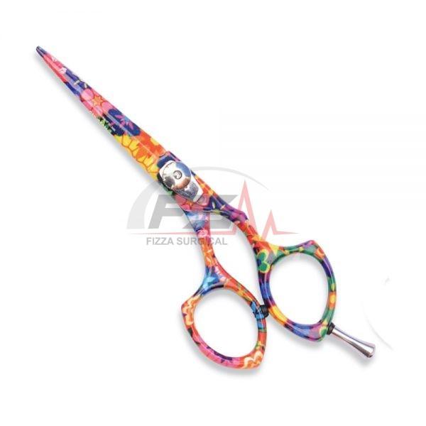 Beautiful Pattern Barracuda Hair Scissors