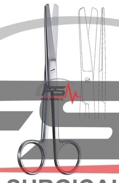 外科剪刀鈍  直 14.5 cm