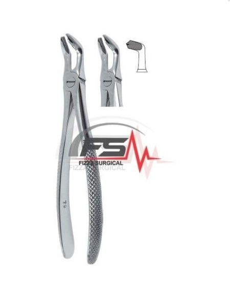 Extracting Forceps Fig.79 English Pattern - Lower Third Molars