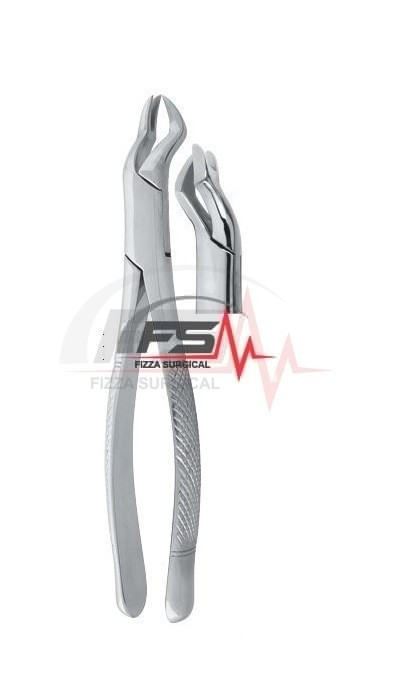 Nevius Extracting Forceps - American Pattern -Fig.88 L – Upper Molars left