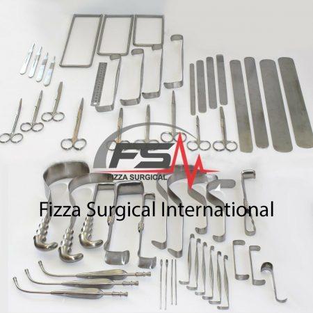 Abdominoperineal Bowel Resection Basic Laparotomy Set